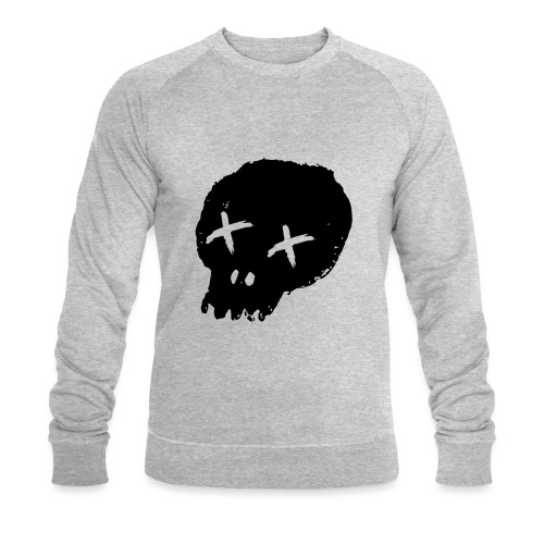 blackskulllogo png - Men's Organic Sweatshirt