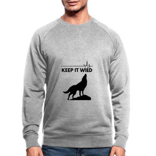 Keep it wild - Männer Bio-Sweatshirt von Stanley & Stella