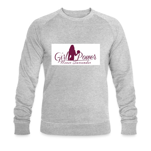 GIRL POWER NEVER SURRENDER - Sudadera ecológica hombre de Stanley & Stella