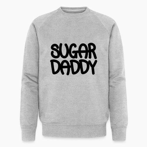 Sugar Daddy Zwart - Mannen bio sweatshirt