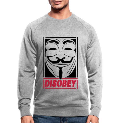 disobey - Økologisk sweatshirt til herrer