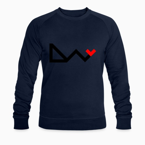 day logo - Men's Organic Sweatshirt by Stanley & Stella