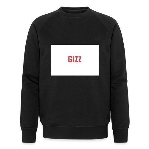 Gizz rood - Mannen bio sweatshirt van Stanley & Stella