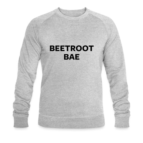 Beetroot Bae - Men's Organic Sweatshirt by Stanley & Stella