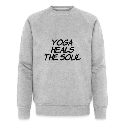 yoga - Mannen bio sweatshirt van Stanley & Stella