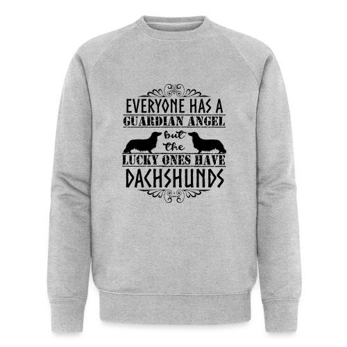 Dachshund LH Angel - Men's Organic Sweatshirt