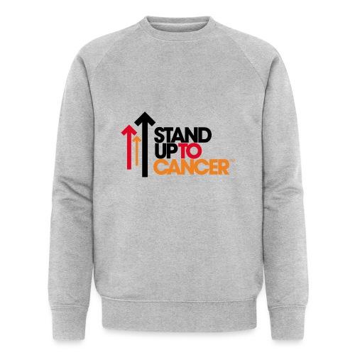 stand up to cancer logo - Men's Organic Sweatshirt by Stanley & Stella