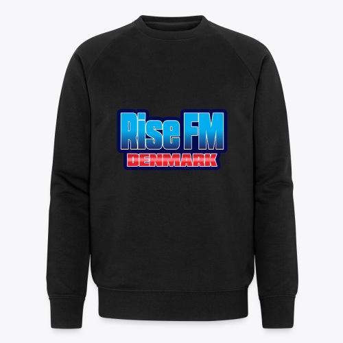 Rise FM Denmark Text Only Logo - Men's Organic Sweatshirt by Stanley & Stella
