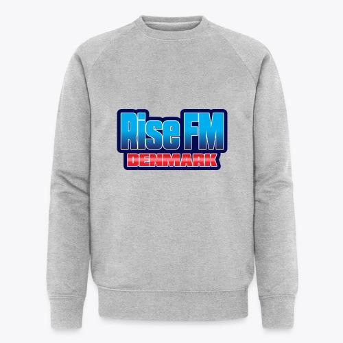 Rise FM Denmark Text Only Logo - Økologisk Stanley & Stella sweatshirt til herrer