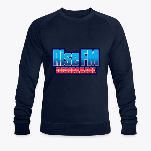 Rise FM Denmark Text Only Logo - Men's Organic Sweatshirt by Stanley & Stella