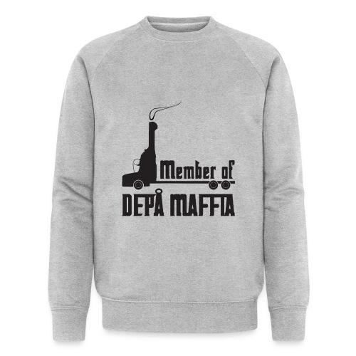 Depå Maffia svart tryck - Ekologisk sweatshirt herr från Stanley & Stella