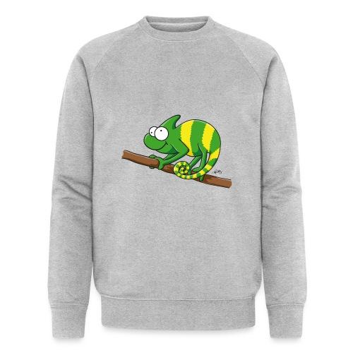 chamaeleon - Männer Bio-Sweatshirt von Stanley & Stella