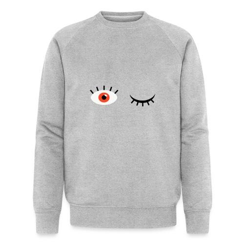 Eye see you - Økologisk sweatshirt til herrer