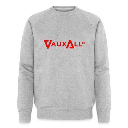 VauxAll Logo | Red | Original - Men's Organic Sweatshirt