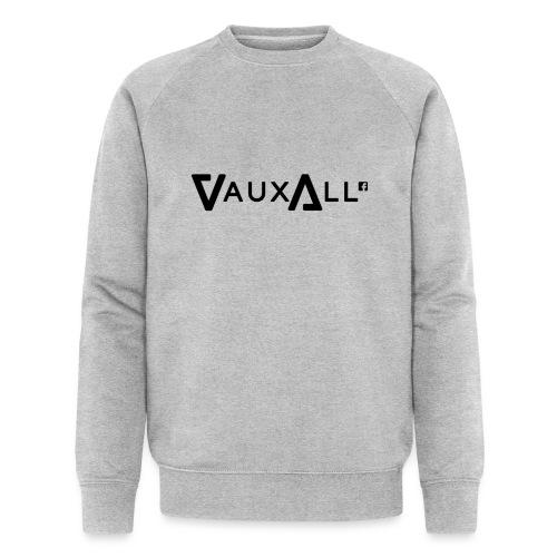 VauxAll Logo | Black | Original - Men's Organic Sweatshirt