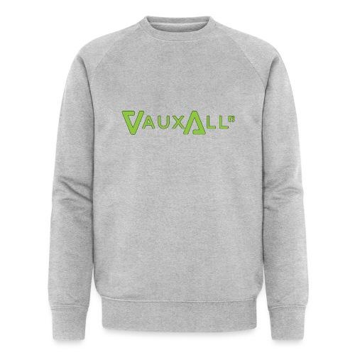 VauxAll Logo | Green | Original - Men's Organic Sweatshirt