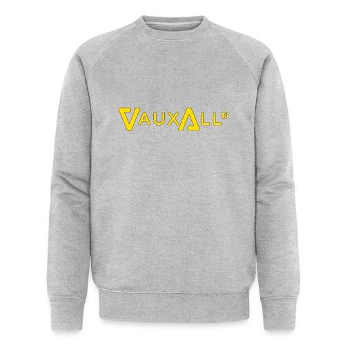 VauxAll Logo | Yellow | Original - Men's Organic Sweatshirt