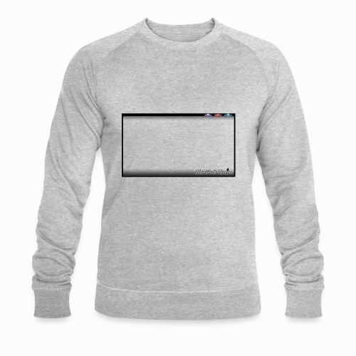 The Scots Review GO LIVE! Logo - Men's Organic Sweatshirt by Stanley & Stella