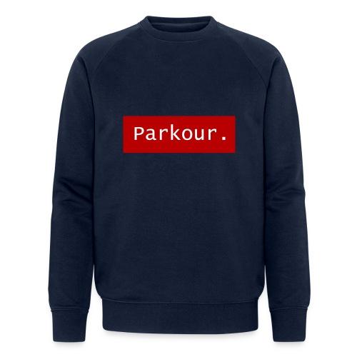 Parkour. - Mannen bio sweatshirt
