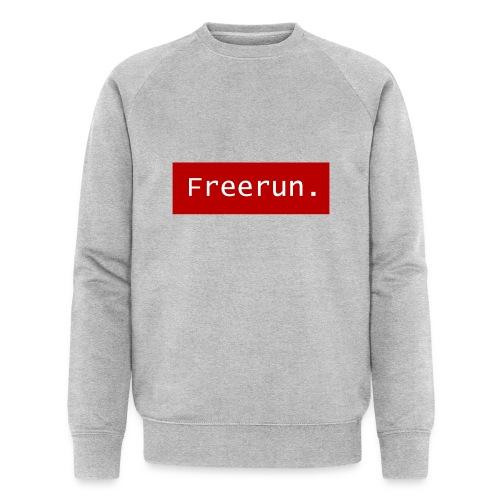 Freerun. - Mannen bio sweatshirt