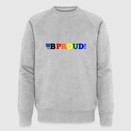 B-ProudrainbowSpread - Men's Organic Sweatshirt by Stanley & Stella