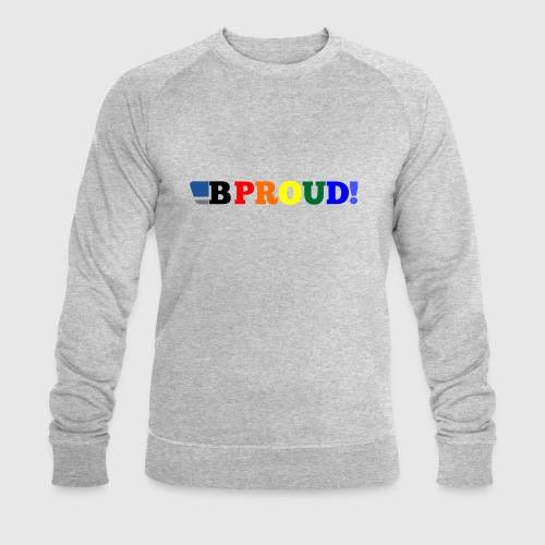B-ProudrainbowSpread - Men's Organic Sweatshirt