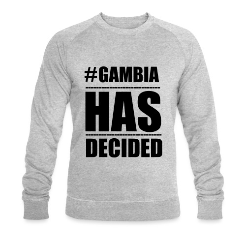 GAMBIA_HAS_DECIDED - Men's Organic Sweatshirt by Stanley & Stella