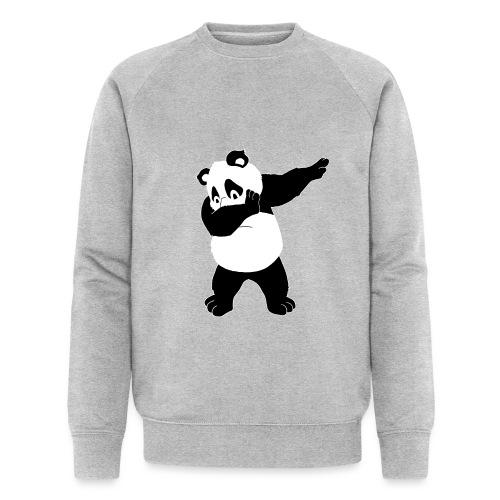 Dabbing Panda Bär - Männer Bio-Sweatshirt von Stanley & Stella