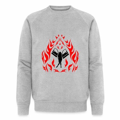 Engel / Flammen - Männer Bio-Sweatshirt von Stanley & Stella