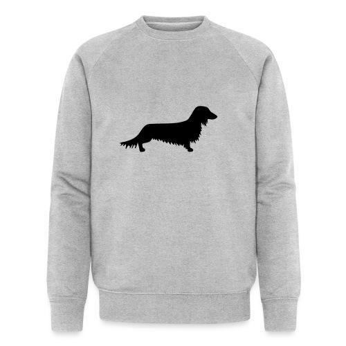 Langhaardackel - Männer Bio-Sweatshirt von Stanley & Stella