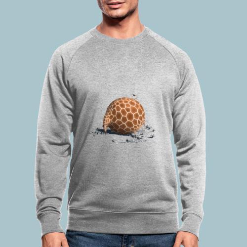 Rollin' Wild - Giraffe drinking - Men's Organic Sweatshirt