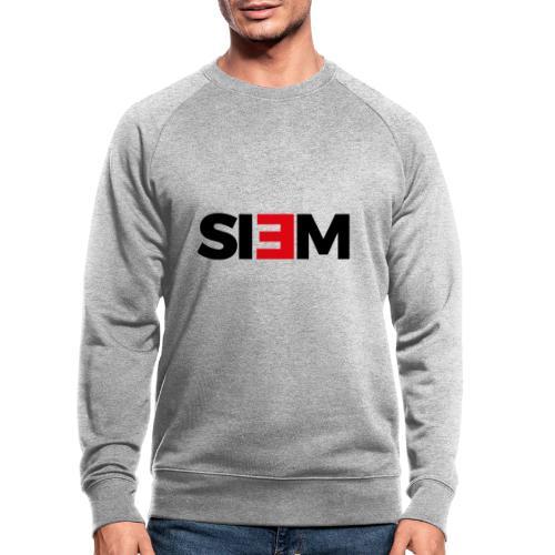 siem_zwart - Mannen bio sweatshirt