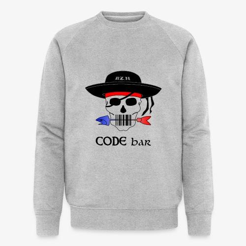 Code Bar couleur - Sweat-shirt bio