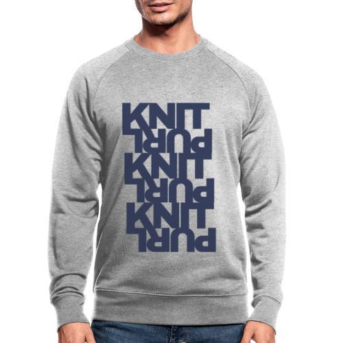 St, dark - Men's Organic Sweatshirt by Stanley & Stella