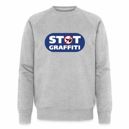 støt graffiti - blk logo - Økologisk Stanley & Stella sweatshirt til herrer
