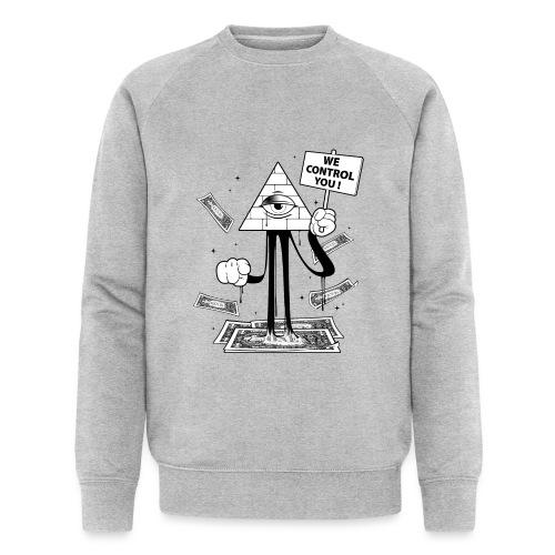 We Control You - Conspiration Design - Sweat-shirt bio Stanley & Stella Homme