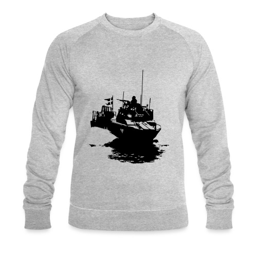 Combat Boat 90 - Stridsbåt 90 - Ekologisk sweatshirt herr från Stanley & Stella