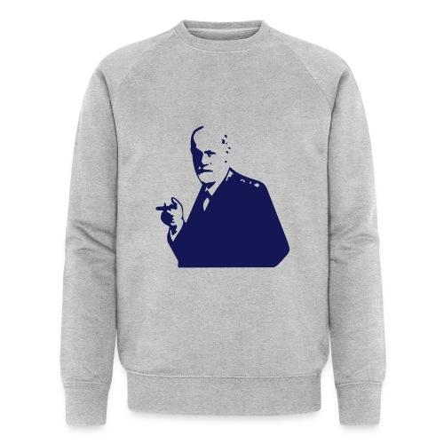 sigmund freud - Men's Organic Sweatshirt by Stanley & Stella