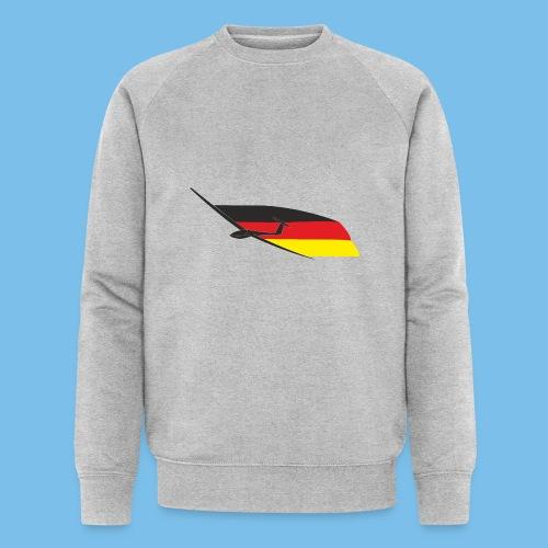 deutschlandflagge segelflugzeug Segelflieger - Männer Bio-Sweatshirt von Stanley & Stella