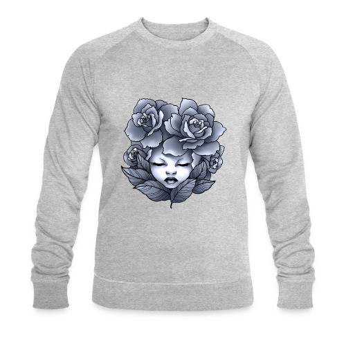 Flower Head - Sweat-shirt bio Stanley & Stella Homme