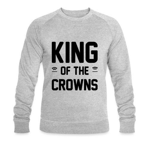 King of the crowns - Mannen bio sweatshirt van Stanley & Stella