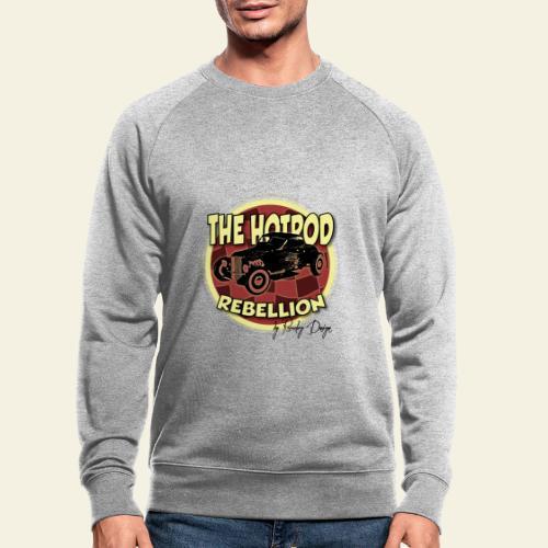 hotrod rebellion - Økologisk sweatshirt til herrer
