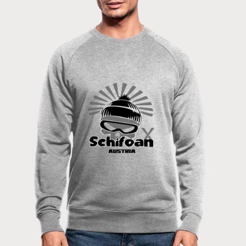 schifoan - Männer Bio-Sweatshirt