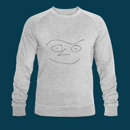 Chabisface Fast Happy - Männer Bio-Sweatshirt von Stanley & Stella
