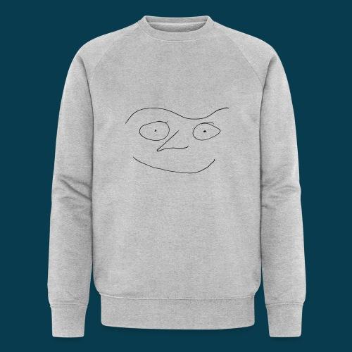 Chabisface Fast Happy - Männer Bio-Sweatshirt