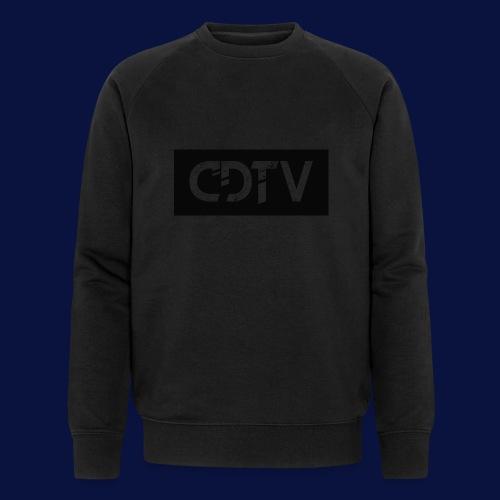 CDTV Box Logo - Men's Organic Sweatshirt