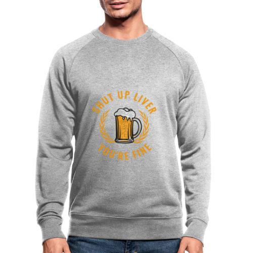 Beer Design - Miesten luomucollegepaita