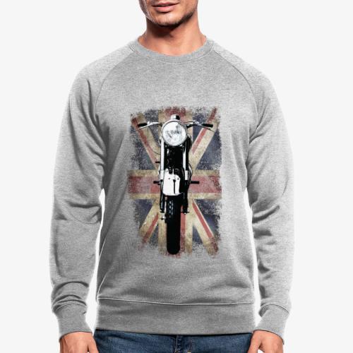 Vintage Motor Cycle BSA feature patjila - Men's Organic Sweatshirt