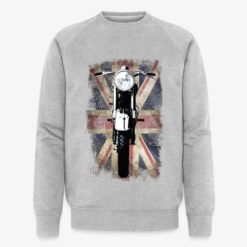Vintage Motor Cycle BSA feature patjila - Men's Organic Sweatshirt by Stanley & Stella