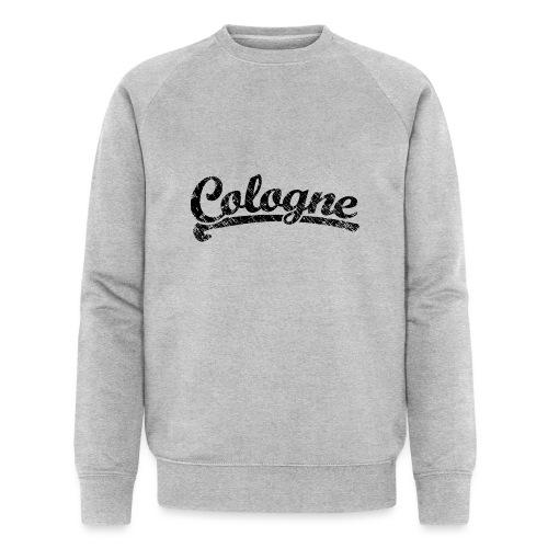 Cologne Classic Vintage Schwarz - Köln Design - Männer Bio-Sweatshirt von Stanley & Stella